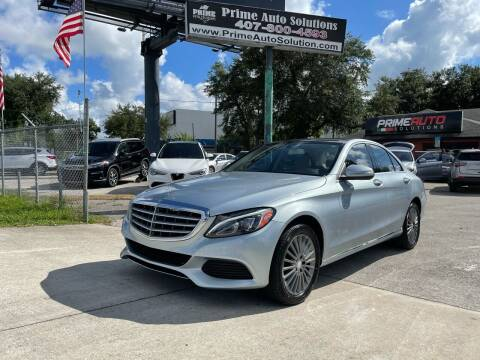 2015 Mercedes-Benz C-Class for sale at Prime Auto Solutions in Orlando FL
