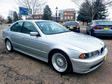2001 BMW 5 Series for sale at J & M PRECISION AUTOMOTIVE, INC in Fort Collins CO