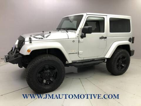 2012 Jeep Wrangler for sale at J & M Automotive in Naugatuck CT