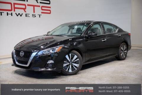 2019 Nissan Altima for sale at Fishers Imports in Fishers IN