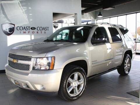 2013 Chevrolet Tahoe for sale at Coast to Coast Imports in Fishers IN