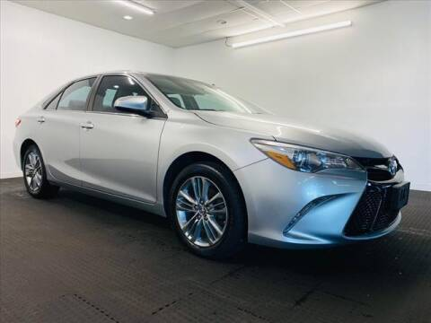 2017 Toyota Camry for sale at Champagne Motor Car Company in Willimantic CT
