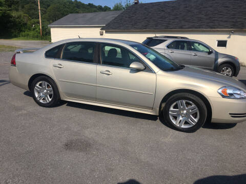 2012 Chevrolet Impala for sale at K B Motors in Clearfield PA