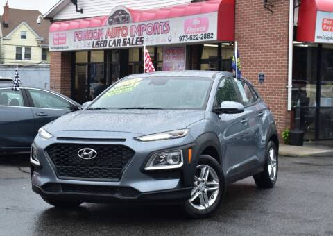 2021 Hyundai Kona for sale at Foreign Auto Imports in Irvington NJ