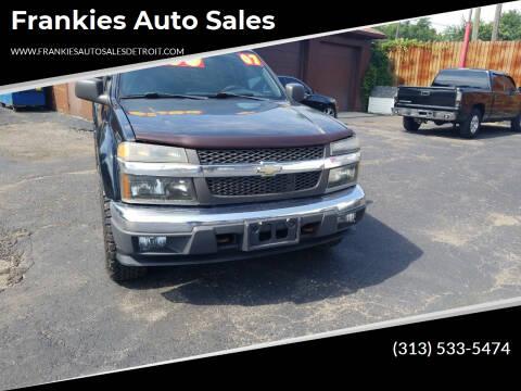 2007 Chevrolet Colorado for sale at Frankies Auto Sales in Detroit MI