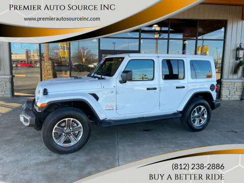 2020 Jeep Wrangler Unlimited for sale at Premier Auto Source INC in Terre Haute IN