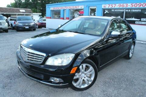 2008 Mercedes-Benz C-Class for sale at Drive Now Auto Sales in Norfolk VA