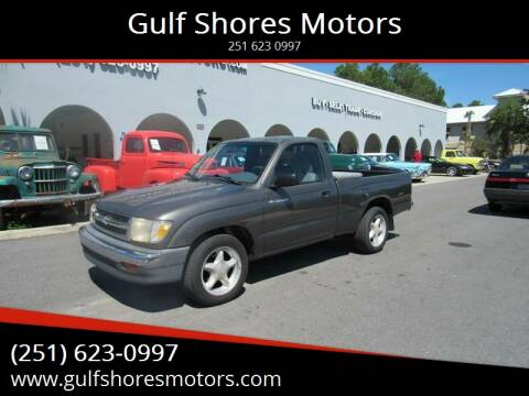 1999 Toyota Tacoma for sale at Gulf Shores Motors in Gulf Shores AL