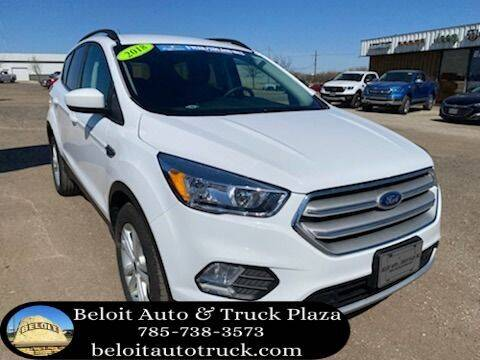 2018 Ford Escape for sale at BELOIT AUTO & TRUCK PLAZA INC in Beloit KS