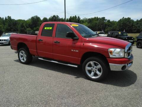 2008 Dodge Ram Pickup 1500 for sale at Kelly & Kelly Supermarket of Cars in Fayetteville NC
