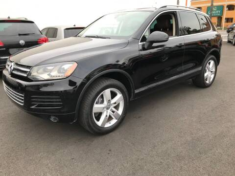 2011 Volkswagen Touareg for sale at Shoppe Auto Plus in Westminster CA