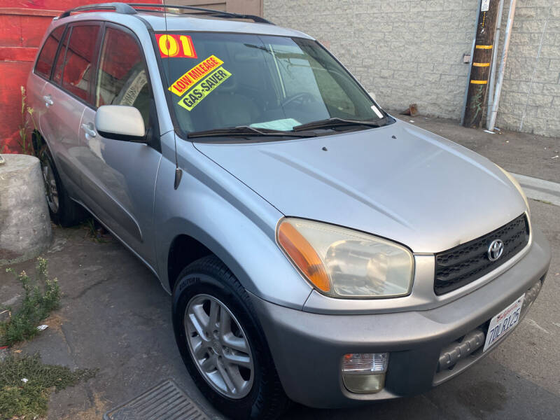 2001 Toyota RAV4 for sale at North County Auto in Oceanside CA