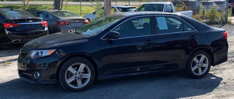 2012 Toyota Camry for sale at Father & Sons Auto Sales in Leeds NY