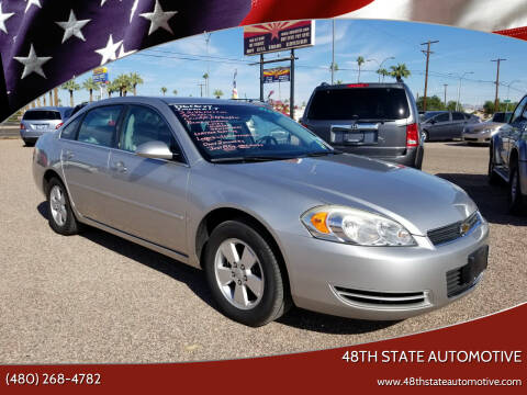 2006 Chevrolet Impala for sale at 48TH STATE AUTOMOTIVE in Mesa AZ