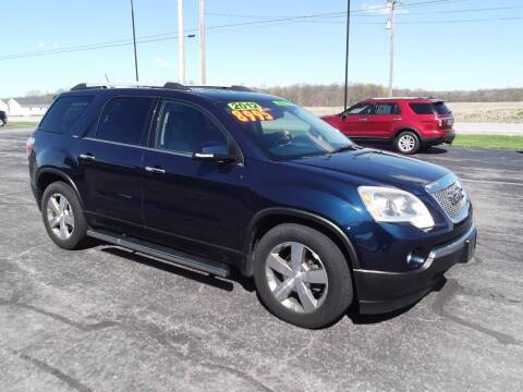 2012 GMC Acadia for sale at Dietsch Sales & Svc Inc in Edgerton OH