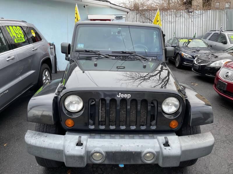 2007 Jeep Wrangler Unlimited for sale at Best Cars R Us LLC in Irvington NJ