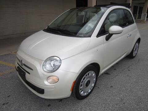 2012 FIAT 500c for sale at PRIME AUTOS OF HAGERSTOWN in Hagerstown MD