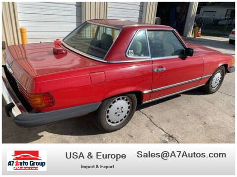 1987 Mercedes-Benz 560-Class for sale at A7 AUTO SALES in Daytona Beach FL