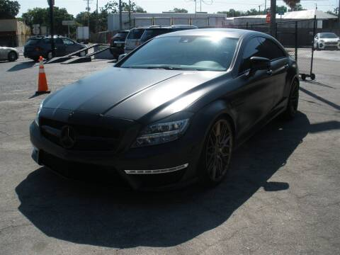 2012 Mercedes-Benz CLS for sale at Priceline Automotive in Tampa FL