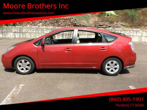 2006 Toyota Prius for sale at Moore Brothers Inc in Portland CT