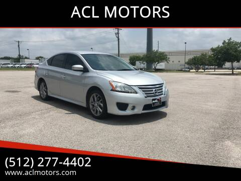 2013 Nissan Sentra for sale at ACL MOTORS in Austin TX