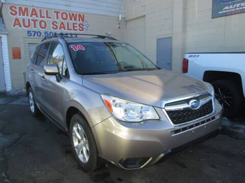 2014 Subaru Forester for sale at Small Town Auto Sales in Hazleton PA