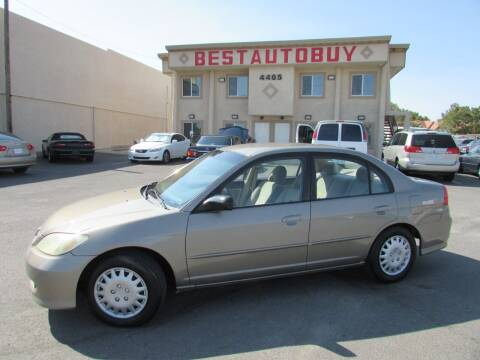 2004 Honda Civic for sale at Best Auto Buy in Las Vegas NV