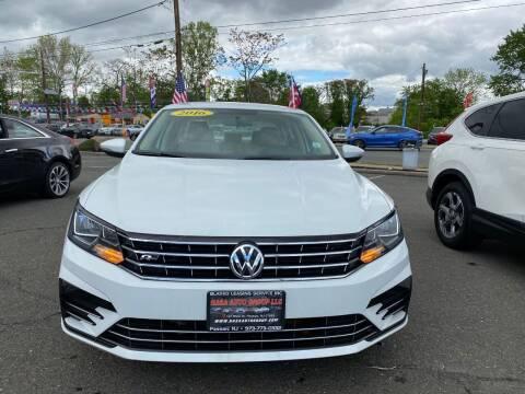 2016 Volkswagen Passat for sale at Nasa Auto Group LLC in Passaic NJ