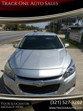 2015 Chevrolet Malibu for sale at Track One Auto Sales in Orlando FL