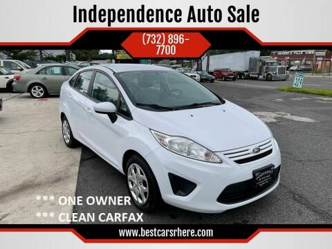 2013 Ford Fiesta for sale at Independence Auto Sale in Bordentown NJ