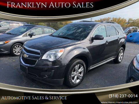 2014 Chevrolet Equinox for sale at Franklyn Auto Sales in Cohoes NY