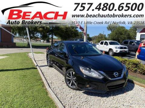 2016 Nissan Altima for sale at Beach Auto Brokers in Norfolk VA