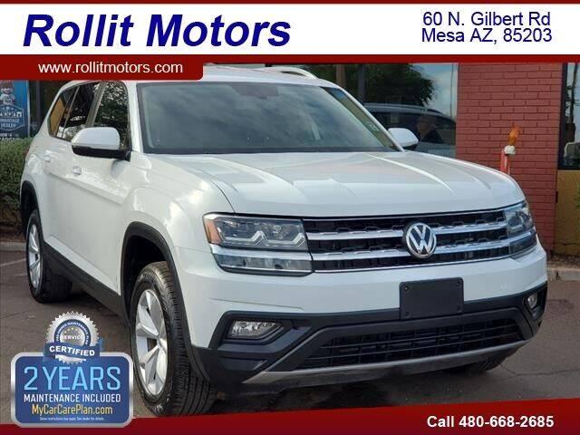 2018 Volkswagen Atlas for sale at Rollit Motors in Mesa AZ