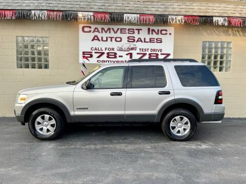 2006 Ford Explorer for sale at Camvest Inc. Auto Sales in Depew NY