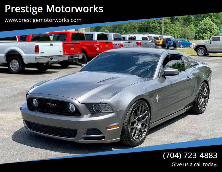 2014 Ford Mustang for sale at Prestige Motorworks in Concord NC