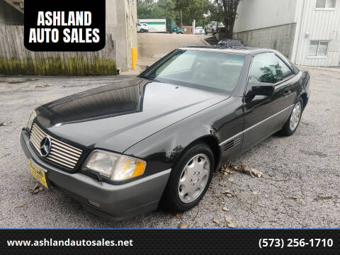 1995 Mercedes-Benz SL-Class for sale at ASHLAND AUTO SALES in Columbia MO