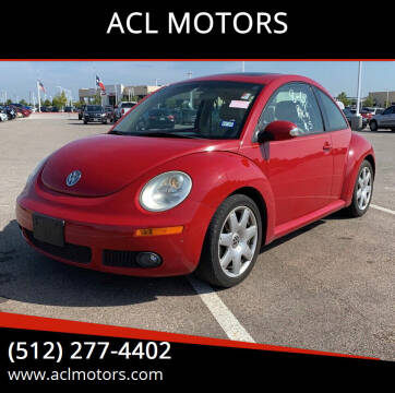 2006 Volkswagen New Beetle for sale at ACL MOTORS in Austin TX