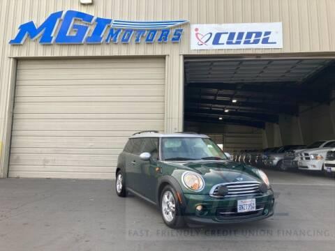 2012 MINI Cooper Clubman for sale at MGI Motors in Sacramento CA