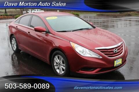 2013 Hyundai Sonata for sale at Dave Morton Auto Sales in Salem OR
