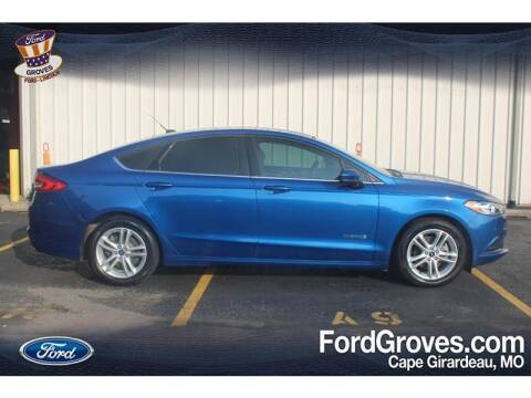 2018 Ford Fusion Hybrid for sale at JACKSON FORD GROVES in Jackson MO