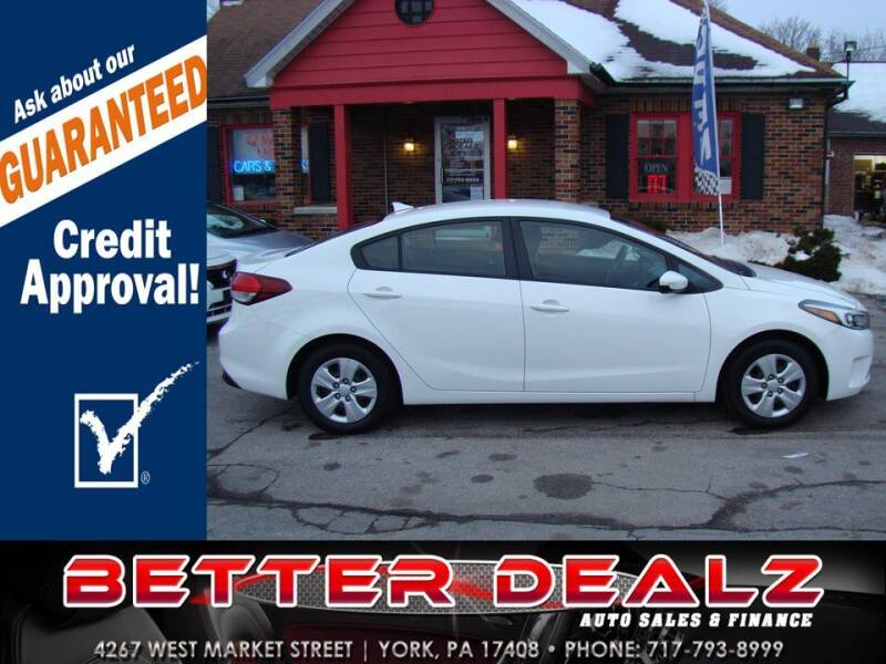 2018 Kia Forte for sale at Better Dealz Auto Sales & Finance in York PA