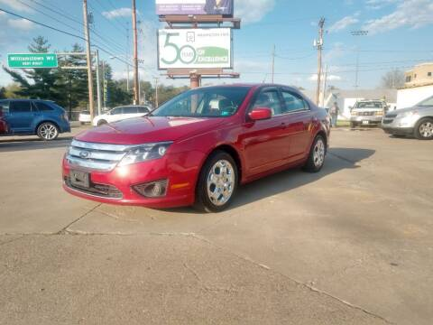 2011 Ford Fusion for sale at Wolfe Brothers Auto in Marietta OH