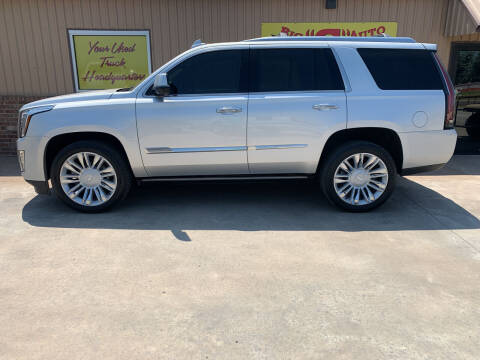 2016 Cadillac Escalade for sale at BIG 'S' AUTO & TRACTOR SALES in Blanchard OK