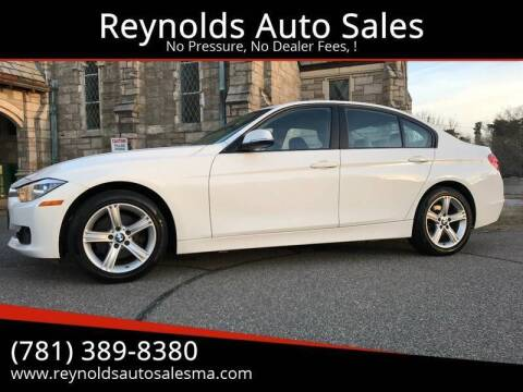 2013 BMW 3 Series for sale at Reynolds Auto Sales in Wakefield MA