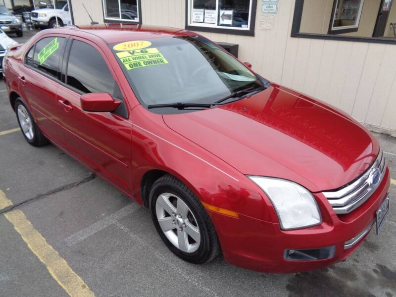 2007 Ford Fusion for sale at BBL Auto Sales in Yakima WA