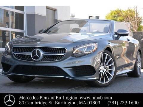 2017 Mercedes-Benz S-Class for sale at Mercedes Benz of Burlington in Burlington MA