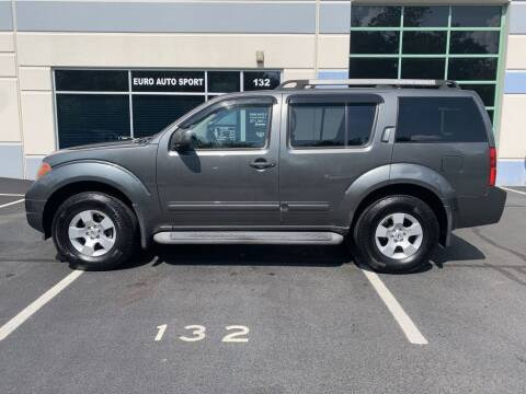 2005 Nissan Pathfinder for sale at Euro Auto Sport in Chantilly VA