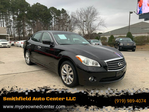 2012 Infiniti M37 for sale at Smithfield Auto Center LLC in Smithfield NC