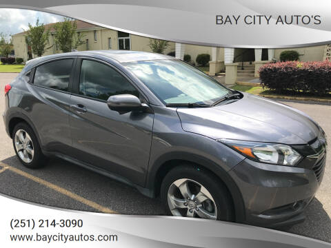 2017 Honda HR-V for sale at Bay City Auto's in Mobile AL