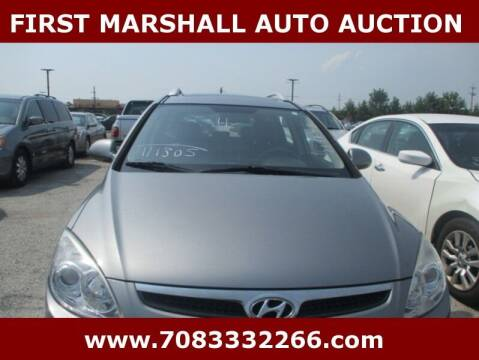 2011 Hyundai Elantra Touring for sale at First Marshall Auto Auction in Harvey IL